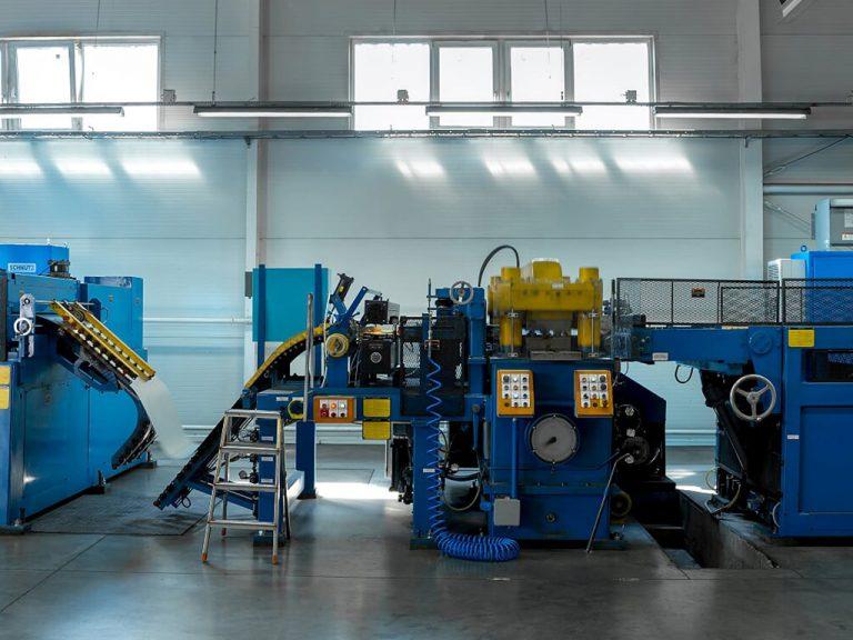 Industrie Electric_0000_15. Modernisierung Schutzkonzept Fertigung für Hochfrequenzkabel
