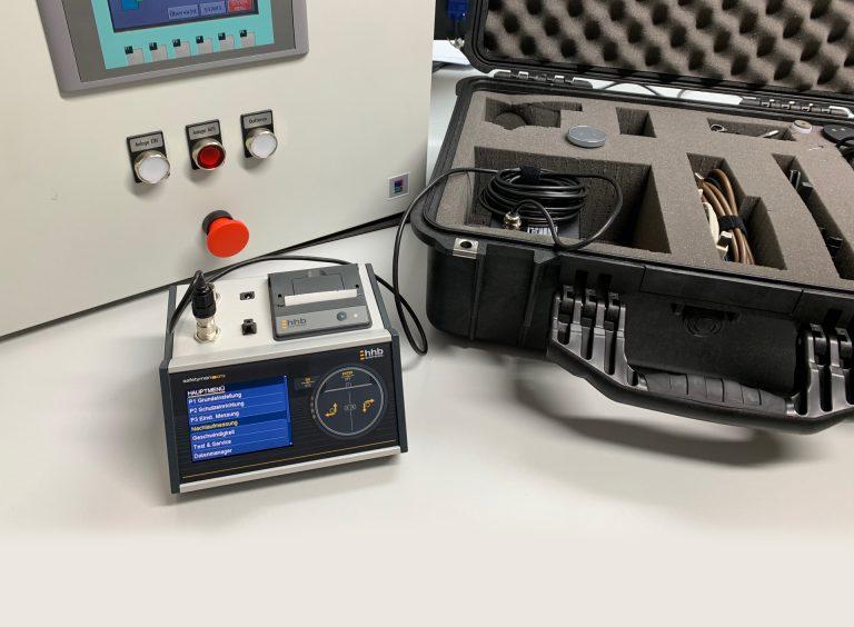 safetyman® DT2 - BWS Nachlaufmessungen - erste Schritte