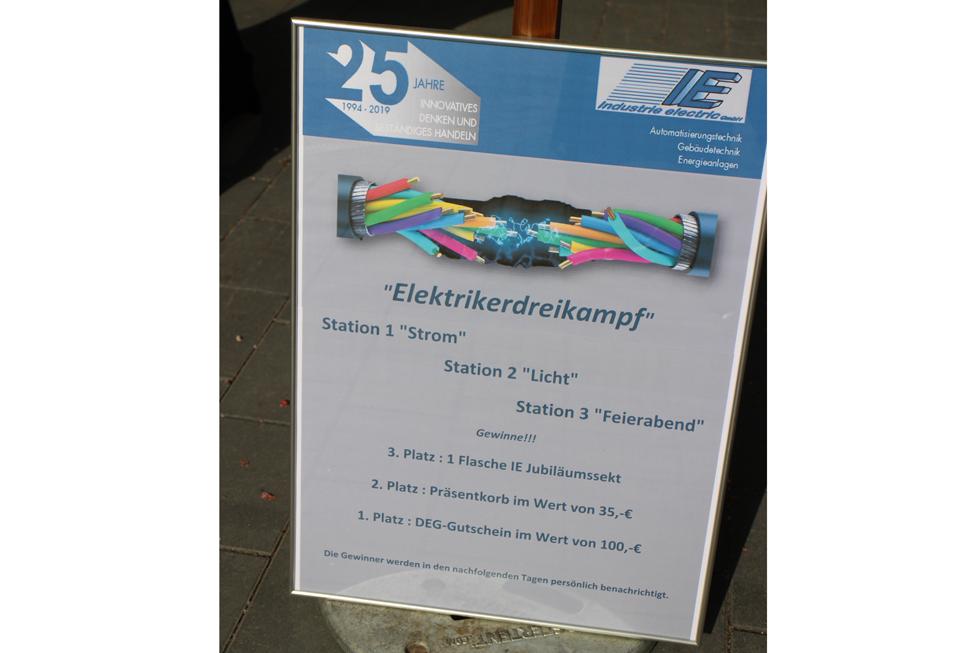 Elektriker-Dreikampf