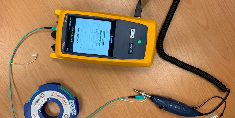 OptiFiber® Pro OTDR: Kabelmessungen der neuesten Generation begeistern auch intern